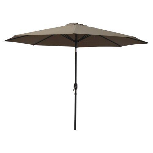 Raburg Sonnenschirm »SUNNY EASY+ in TAUPE - XXL Gartenschirm neigbar mit Sonnenschutz UV50+, 3x3 m - Stoff 160g/m2 - Gewicht: 4 kg«