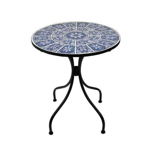HTI-Living Gartentisch »Metalltisch Marokko«, Blau