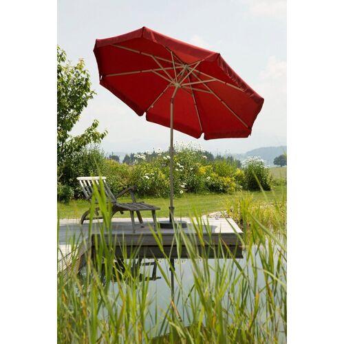 Schneider Schirme Sonnenschirm »Orlando«, Ø 270 cm, ohne Schirmständer, rot