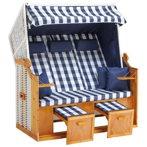 DEVIRES Strandkorb »Basic«, 3-Sitzer, BxTxH: 156x77x160 cm
