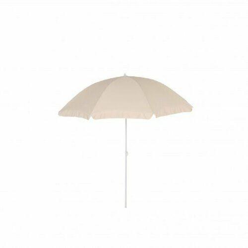 Meinposten Sonnenschirm »Ø 200 cm Strandschirm Balkonschirm Strand Balkon UV beige«, abknickbar