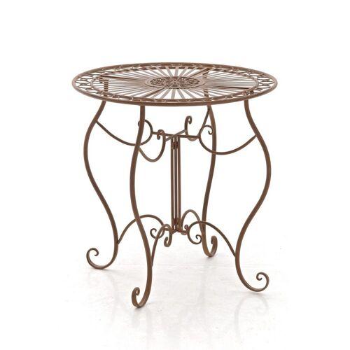 CLP Gartentisch »Indra«, aus Eisen, antik braun