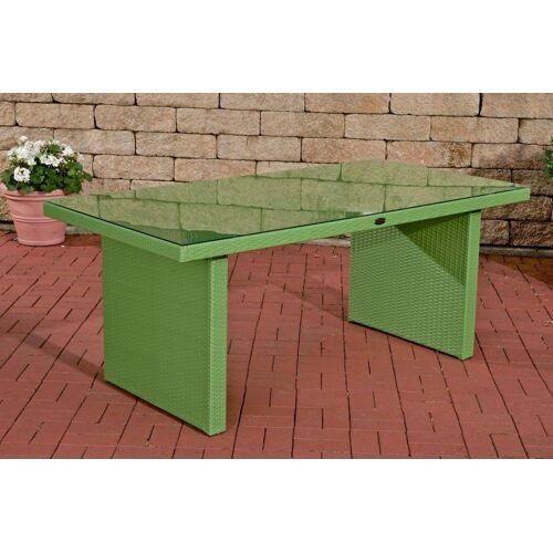 CLP Gartentisch »Avignon«, aus Polyrattan geflochten, grün
