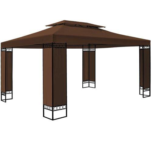 Deuba Pavillon »Elda«, wetterfest, Braun