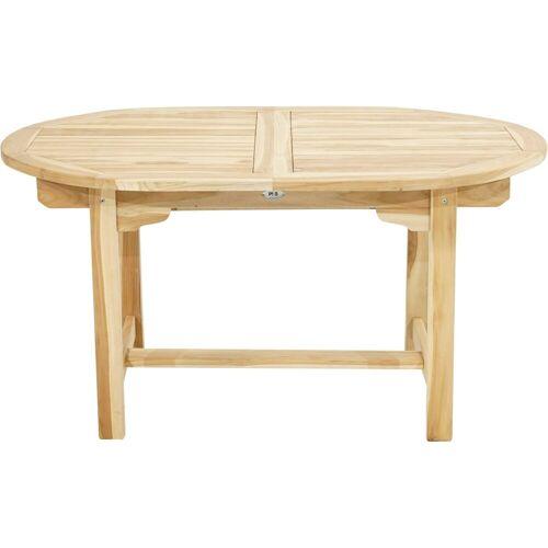 Ploß Gartentisch »LOUISIANA«, ECO-TEAK® Holztisch - Oval - Ausziehbar
