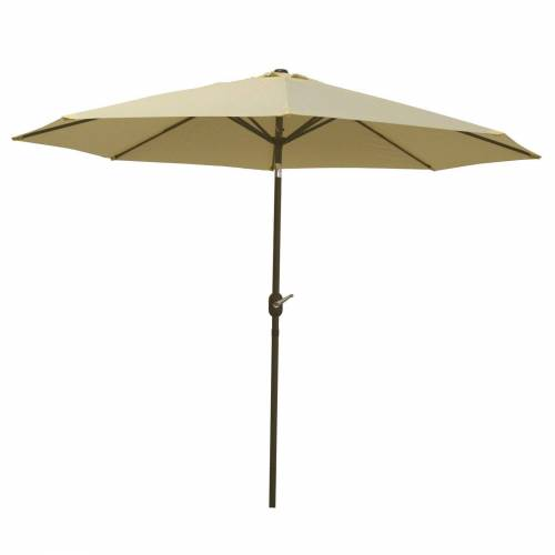 Raburg Sonnenschirm »SUNNY EASY+ in VANILLE - XXL Gartenschirm neigbar mit Sonnenschutz UV50+, 3 x 3 m - Stoff 160g/m2 - Gewicht: 4 kg«
