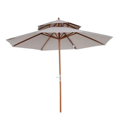 Outsunny Sonnenschirm »Sonnenschirm mit Doppeldach«
