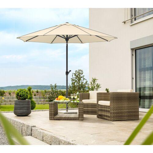 Schneider Schirme Sonnenschirm »Adria«, ohne Schirmständer, natur