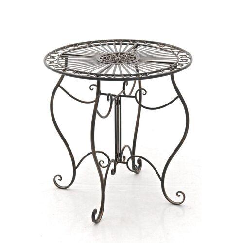 CLP Gartentisch »Indra«, aus Eisen, bronze