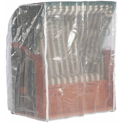 Sonnen Partner Schutzhülle, für Strandkörbe, B/T/H: 150/110/156cm, transparent