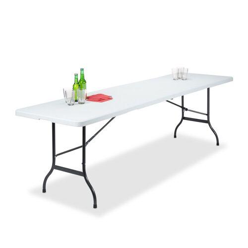 relaxdays Gartentisch »Klappbarer Gartentisch 240 x 70 cm«