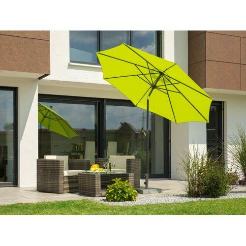 Schneider Schirme Sonnenschirm »Harlem«, Ø 270 cm, ohne Schirmständer, grün