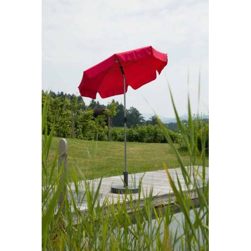 Schneider Schirme Sonnenschirm »Locarno«, ohne Schirmständer, rot
