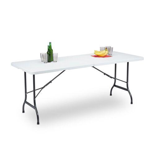 relaxdays Gartentisch »Klappbarer Gartentisch 180 x 75 cm«
