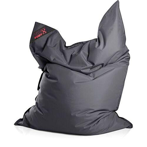 Magma Heimtex Sitzsack »Big Foot«, für Indoor und Outdoor, grau