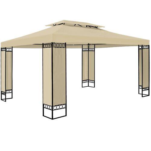 Deuba Pavillon »Elda«, wetterfest, Beige