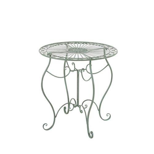 CLP Gartentisch »Indra«, aus Eisen, antik-grün