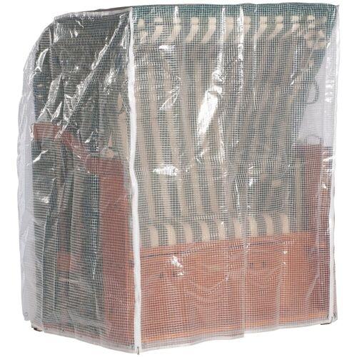 Sonnen Partner Schutzhülle, für Strandkörbe, B/T/H: 125/110/156cm, transparent