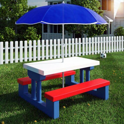 Deuba Sitzgruppe, mit Sonnenschirm