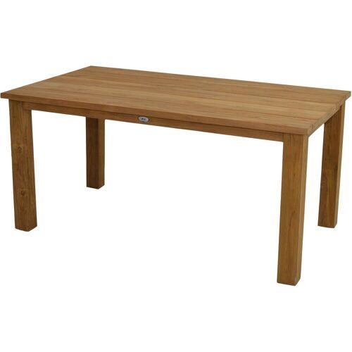 Ploß PLOSS Gartentisch »Laredo«, Teakholz, 160x90 cm, braun, braun