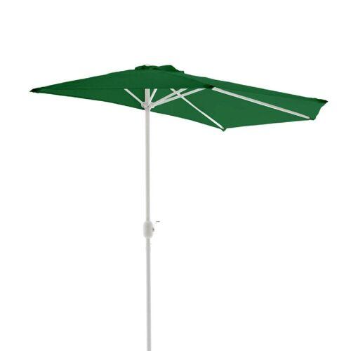 VCM Sonnenschirm »Sonnenschirm, halbrund grün«