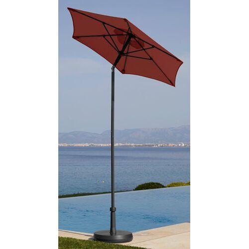 garten gut Sonnenschirm »Push up Schirm Rom«, Ø 150 cm, rot