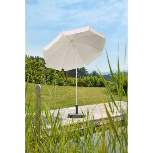 Schneider Schirme Sonnenschirm »Ibiza«, Ø 200 cm, ca. 150 g/m², ohne Schirmständer, natur
