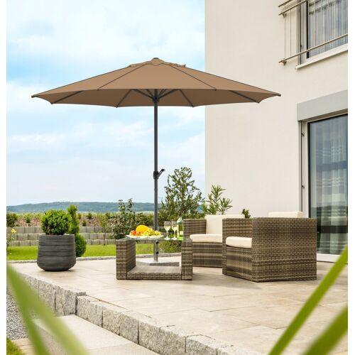 Schneider Schirme Sonnenschirm »Adria«, ohne Schirmständer, mocca