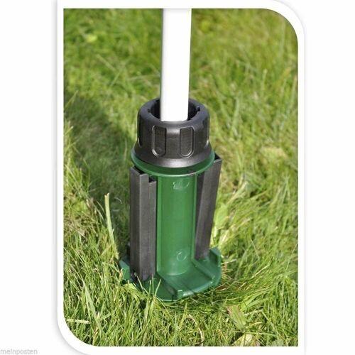 Meinposten Bodenhülse »Rasendorn Sonnenschirmhalter Schirmständer Sonnenschirmfuß grün«