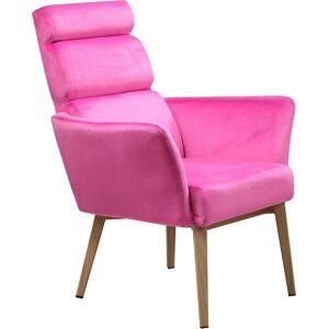 SIT Polsterstuhl »&Chairs« Samtbezug in bunten Farben, pink