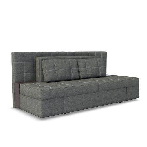 Vicco 3-Sitzer »Schlafsofa mit Bettfunktion 235 x 105 cm Grau Dreisitzer Couch Schlafcouch«