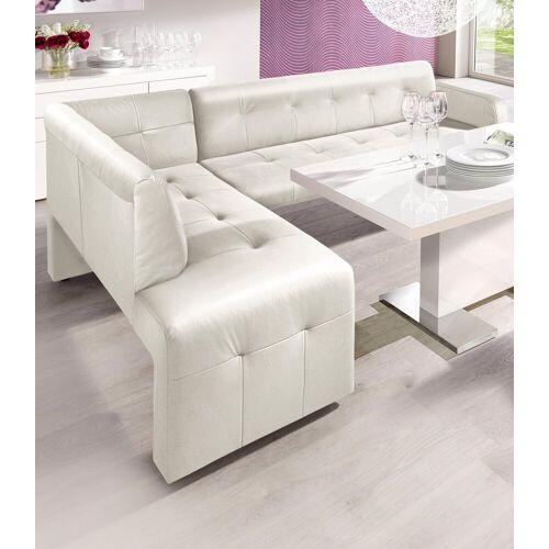 exxpo - sofa fashion Eckbank, weiß