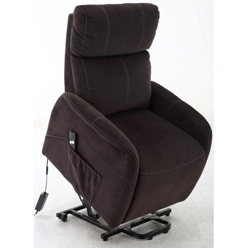 bv-vertrieb TV-Sessel »TV-Sessel TV-Fernsehsessel mit Aufstehhilfe«, TV-Sessel TV-Fernsehsessel mit Aufstehhilfe Seniorensessel - (3792), schwarz