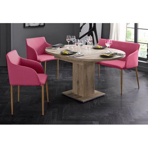 Sitzbank, Breite 106 cm, pink