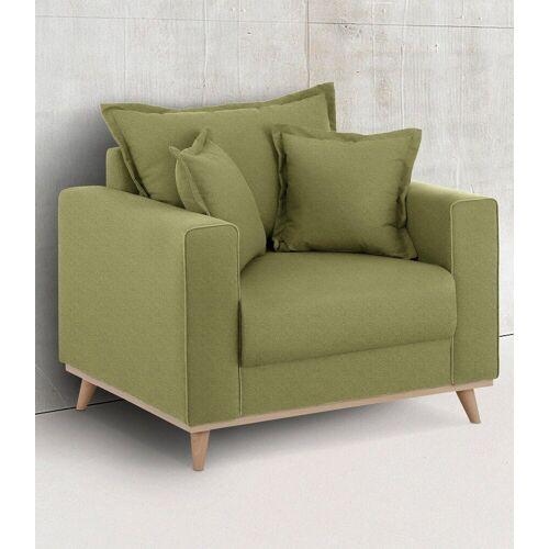 Home affaire Sessel »Edina«, im skandinavischem Stil, grün