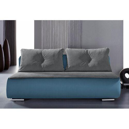 INOSIGN Schlafsofa »Fun«, blau-grau   grau