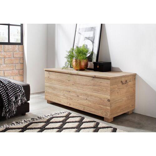 Home affaire Truhe »Linn«, aus recyceltem antiken Holz