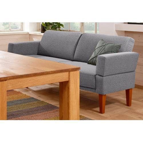Home affaire Sofa »Fehmarn«, in 3 Größen, grau