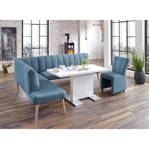 exxpo - sofa fashion Eckbank, azur