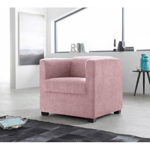 INOSIGN Sessel »Bob«, in verschiedenen modernen Farben und Qualitäten, flamingo
