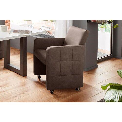 exxpo - sofa fashion Sessel, Breite 61 cm, brown