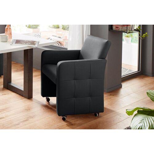 exxpo - sofa fashion Sessel, Breite 61 cm, black