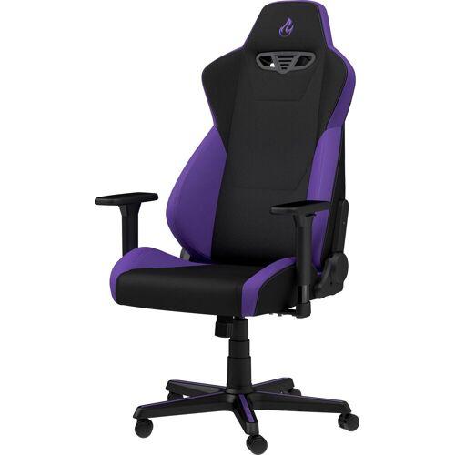 NITRO CONCEPTS Gaming-Stuhl »S300 Gaming Chair« Bürostuhlzertifizierung DIN EN 1335, lila