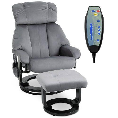 HOMCOM Massagesessel »Massagesessel mit Fußhocker«
