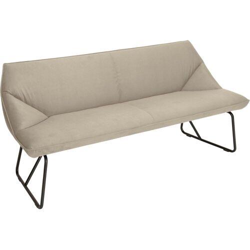 TOM TAILOR Sitzbank »CUSHION«, mit schmalem Metallgestell, Breite 184 cm, ivory STC 1