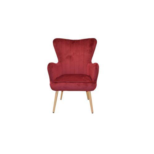 moebel-direkt-online Sessel »Maja« (1-tlg), mit bequemer Sitzschale, rot