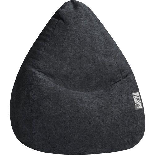 Sitting Point Sitzsack »Sitzsack ALFA XXL«, schwarz