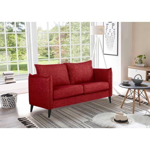 andas 2-Sitzer »Leo«, in hochwertiger Verarbeitung, rot