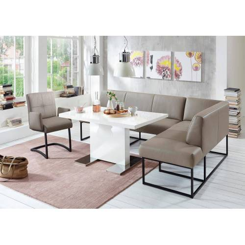 exxpo - sofa fashion Eckbank, stein