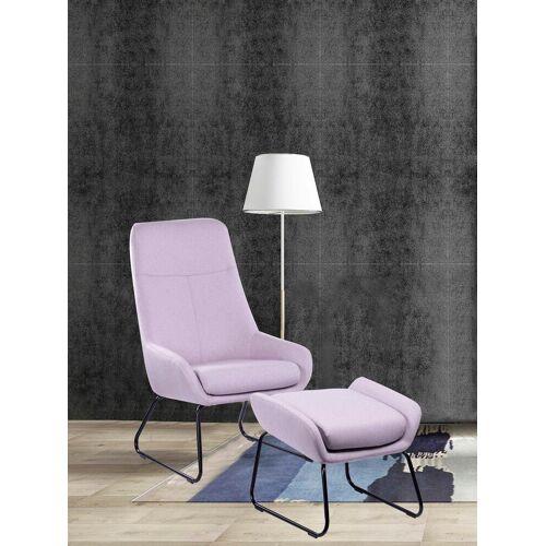 SIT Sessel »&Chairs«, mit modernem Kufengestell, rosa